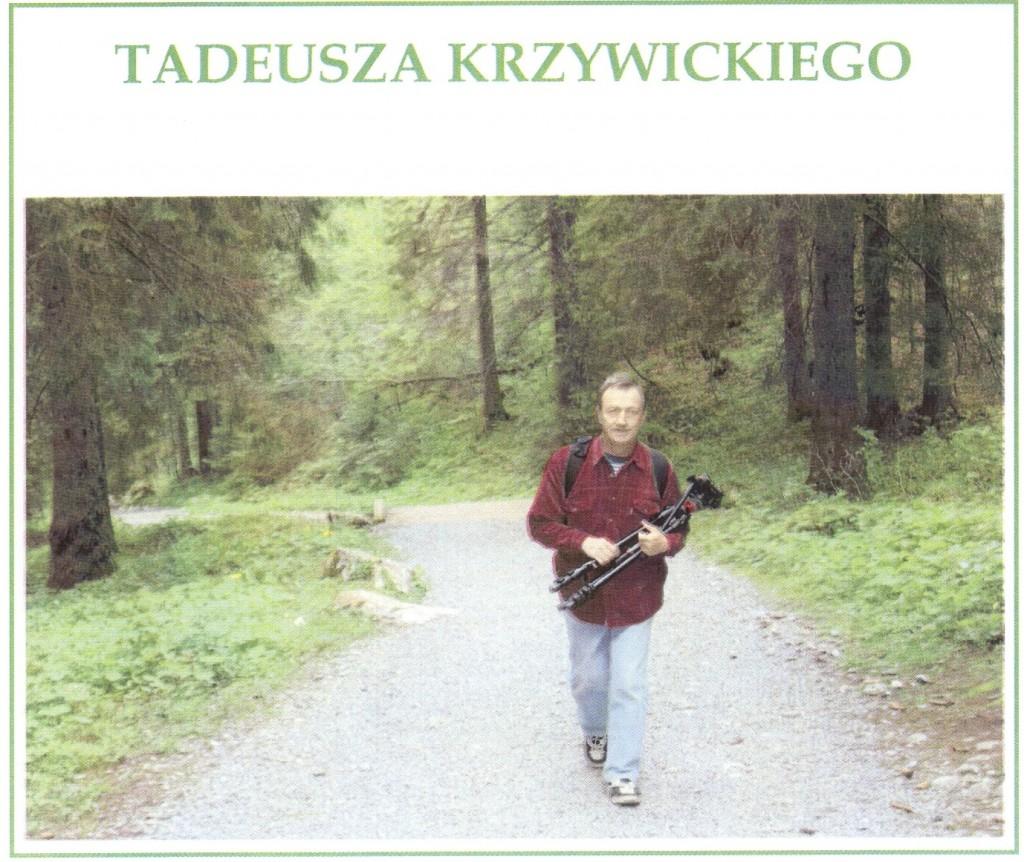 Wystawa fotografii Tadeusza Krzywickiego-zaproszenie