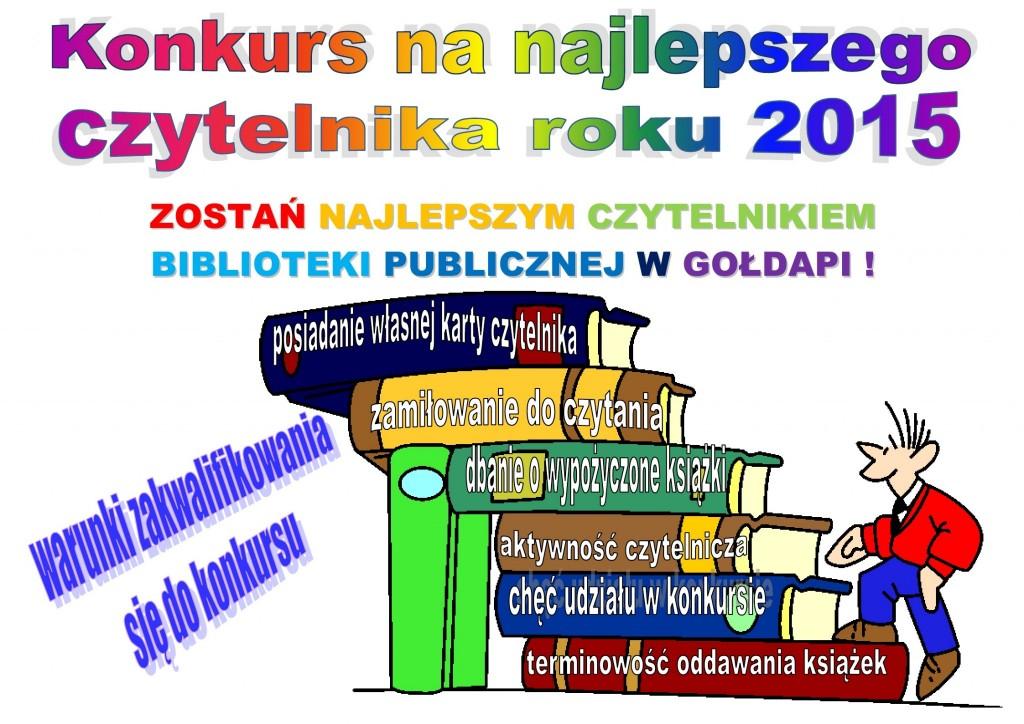 Konkurs na czytelnika 2015