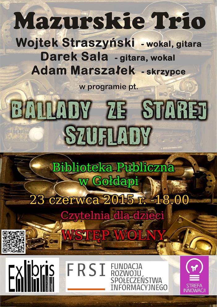 Plakat-Mazurskie Trio
