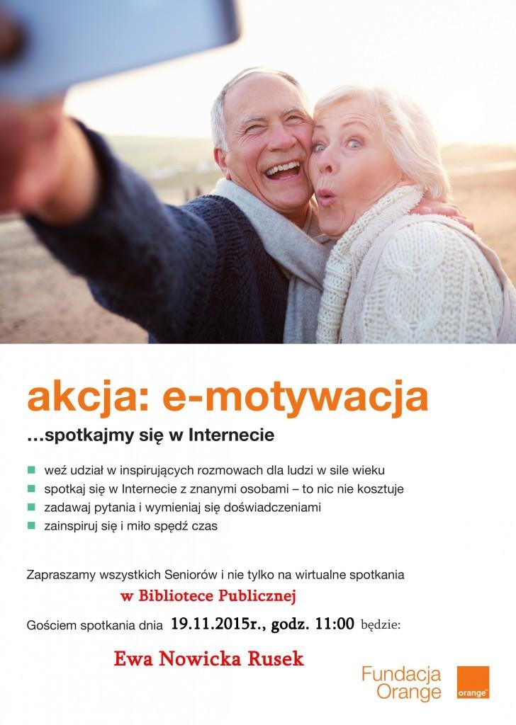 Akcja e-motywacja… Ewa Nowicka Rusek