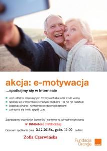 Akcja e-motywacja… Zofia Czerwińska