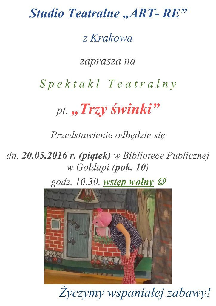 ART-RE  -Trzy Świnki