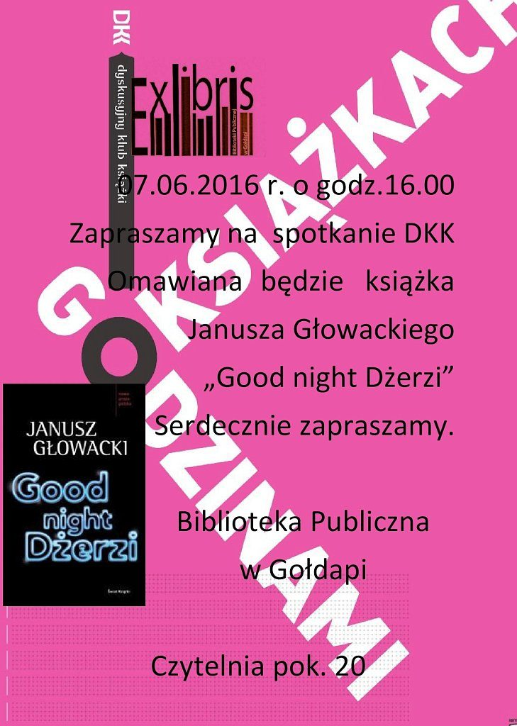 "DKK-""Good night Dżerzi"""