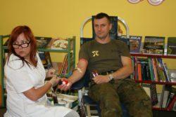 Akcja krwiodawcza w Bibliotece Publicznej _3