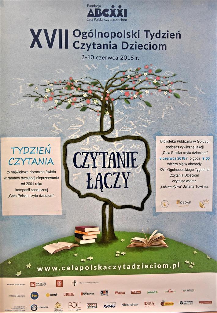 Xvii Ogólnopolski Tydzień Czytania Dzieciom Biblioteka