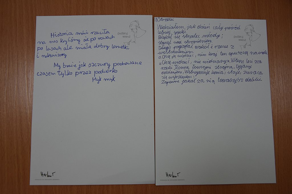 Podaruj Wiersz W Szkole Podstawowej Nr 2 W Gołdapi