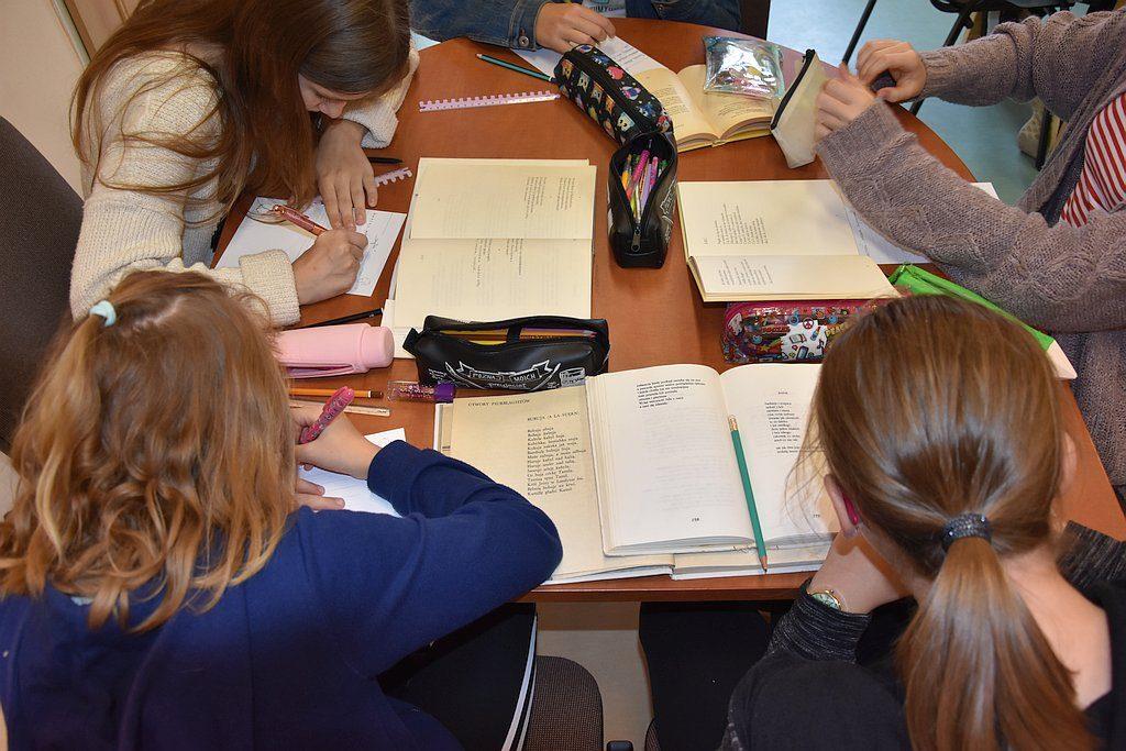 Uczniowie Vi C W Akcji Podaruj Wiersz Biblioteka