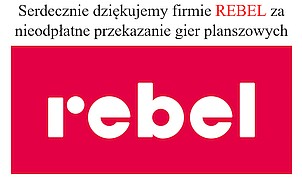"""Link do strony Biblioteki Publicznej w Gołdapi do postu Gry od Serca REBEL"""" po raz drugi"""